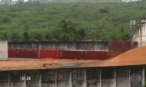 Começa a construção de muro que irá dividir a penitenciária de Alcaçuz