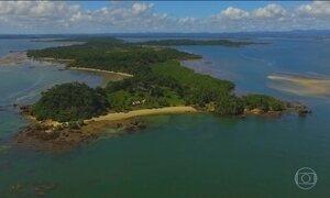 Baía de Camamu (BA) concentra 63 ilhas