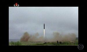 Coreia do Norte confirma teste com míssil balístico