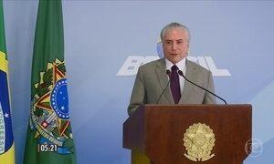 Michel Temer anuncia critérios para manter no governo ministros envolvidos em denúncias