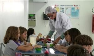 Alimentos mais consumidos em escolas são de baixo teor nutritivo