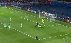 Barcelona é goleado pelo PSG nas oitavas de final da Liga dos Campeões da Europa