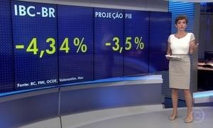 Índice de atividade do BC mostra retração da economia brasileira
