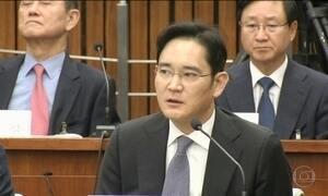 Herdeiro da Samsung é preso na Coreia do Sul
