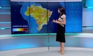 Confira a previsão do tempo para o domingo (19) em todo país