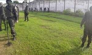 Exército faz varredura em presídio de Rondônia e encontra mais de 500 facas