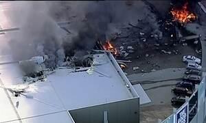 Avião de pequeno porte cai na Austrália e deixa cinco mortos