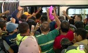 Rodoviários entram em greve em Manaus