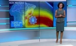 Previsão de sol para o Sul e Sudeste nesta quarta (22)