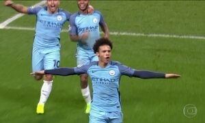 Manchester City goleia Monaco por 5 a 3 na Liga dos Campeões da Europa