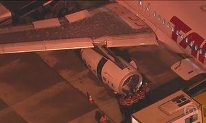 Problema em turbina de um avião fecha o aeroporto de Congonhas