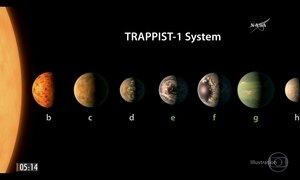Nasa anuncia a descoberta de 7 planetas parecidos à Terra