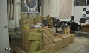 Polícia apreende drogas, armas e munição em Brasília