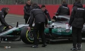 Mercedes apresenta novo carro para a temporada da Fórmula 1