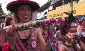 Dezenas de blocos esquentam o carnaval de Belo Horizonte