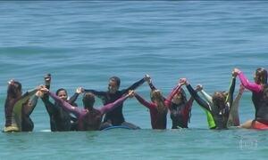 Brasil tem projeto para desenvolver surfe feminino
