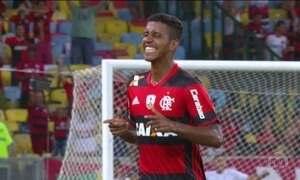 Flamengo goleia na estreia da Taça Libertadores