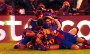 Barcelona faz o improvável, goleia o PSG e vai às quartas na Liga dos Campeões