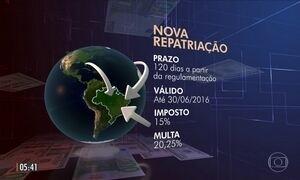 Senado aprova nova fase do programa de repatriação de dinheiro que está no exterior