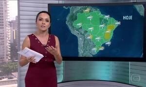 Veja a previsão do tempo para esta quarta-feira (15) no Brasil