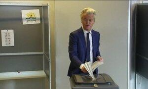 Eleitores da Holanda votam novo parlamento nessa quarta-feira (15)