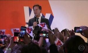 Partido do atual governo vence eleição na Holanda