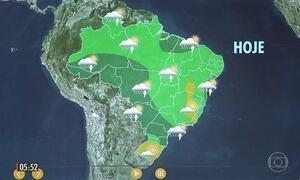 Confira a previsão do tempo para a sexta-feira (17)