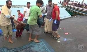 Refugiados morrem na costa do Iêmen após barco ser atacado