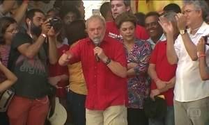 Lula e Dilma visitam obra do São Francisco na Paraíba