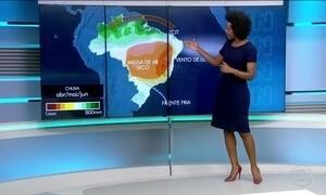 Confira a previsão do tempo para a terça-feira (21) em todo o país