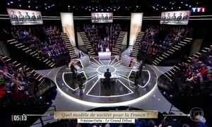 Candidatos à presidência da França participam de primeiro debate eleitoral