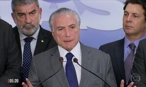 Presidente Temer tira servidores estaduais da reforma da Previdência