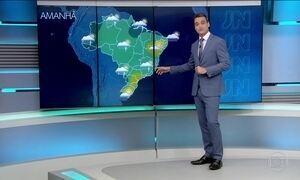 Confira a previsão do tempo para o domingo (26) em todo o país