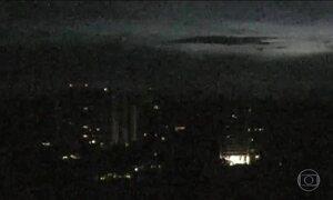 Apagão atinge Manaus e mais três cidades da região metropolitana