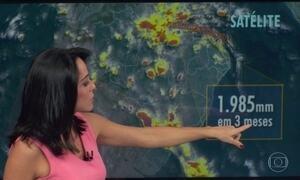Tem previsão de mais chuva em toda a região Norte