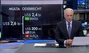 Odebrecht vai pagar multa de 2,6 bilhões de dólares nos Estados Unidos