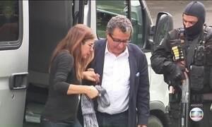 Sérgio Moro interroga João Santana e Mônica Moura