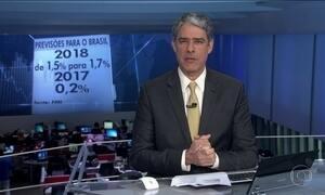 FMI aumenta previsão do crescimento da economia brasileira para 1,7% em 2018
