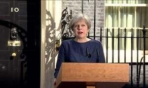 Theresa May antecipa em três anos as eleições parlamentares no Reino Unido