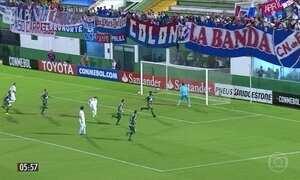 Chapecoense empata em partida pela Libertadores