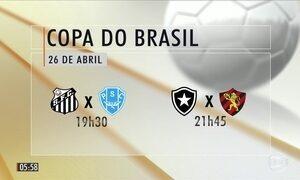 Sorteio define confrontos da Copa do Brasil