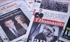 Candidatos fazem campanha para o 2º turno das eleições na França