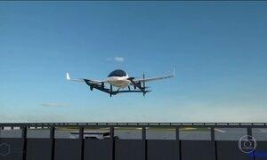 Grupos de empresas se reúne para realizar o sonho do táxi voador