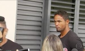 Goleiro Bruno volta para a cadeia, em Minas Gerais