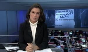 Desemprego bate novo recorde no primeiro tri: 13,7%