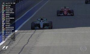 Finlandês Valteri Bottas vence Grande Prêmio da Rússia na Fórmula 1