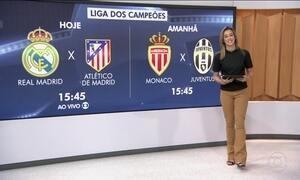 Começam as semifinais da Liga dos Campeões da Europa