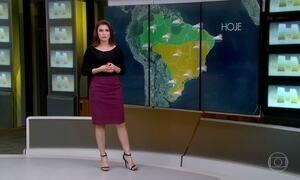 Previsão do tempo alerta sobre chuva forte no oeste do RS, de SC, do PR e de MS