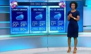 Confira a previsão do tempo em todo o Brasil para este domingo (14)