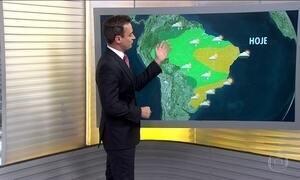 Previsão é de chuva para a Região Norte e de tempo firme no Sul